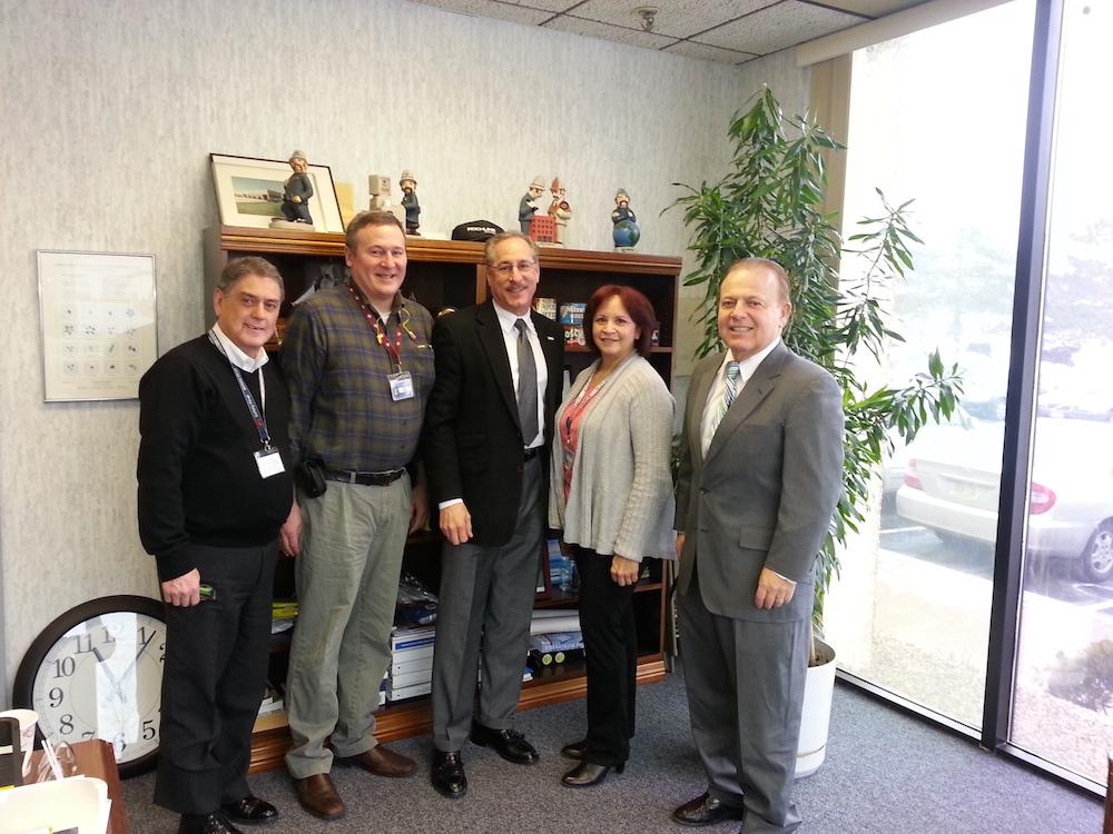 Senator Pennacchio Visits Rockline Industries Maker Of
