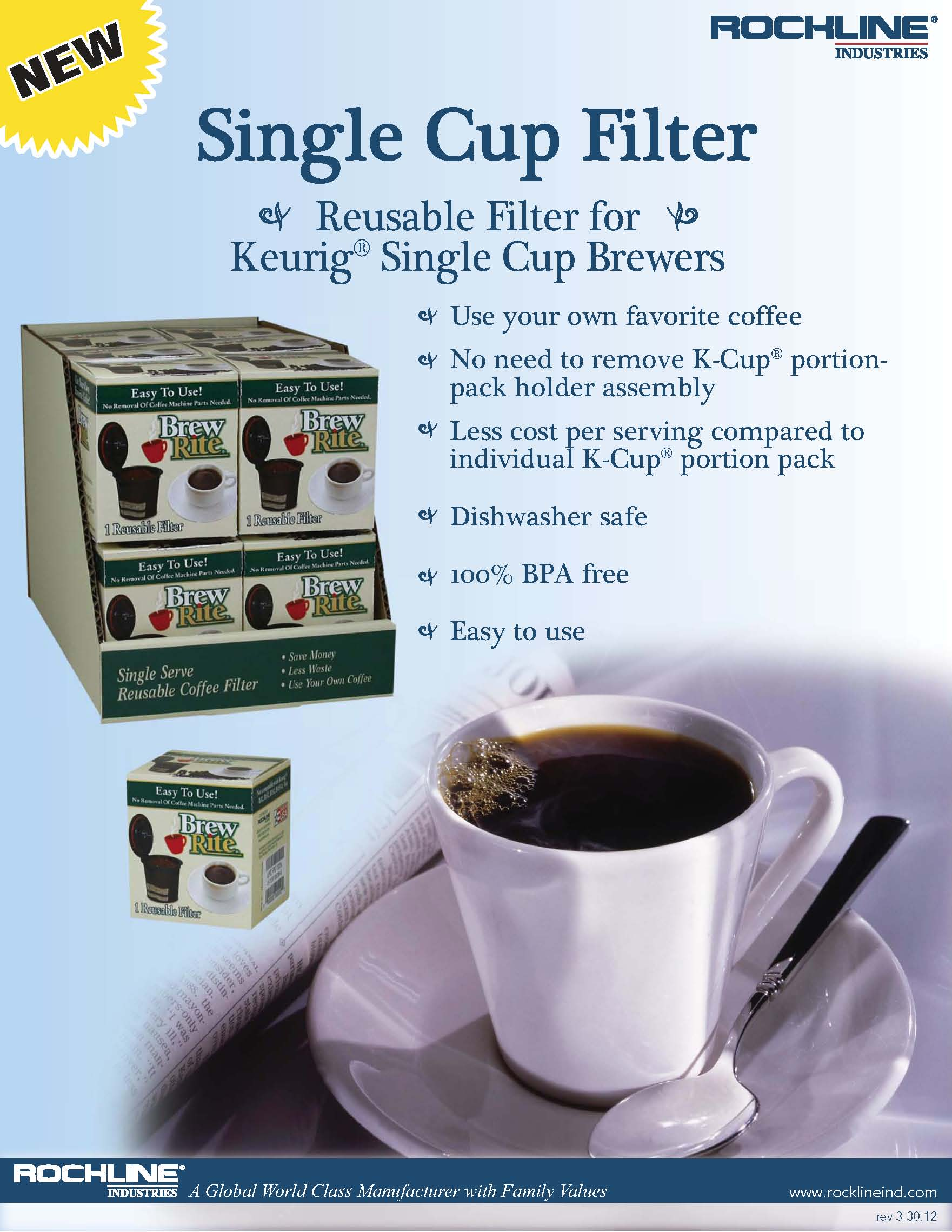 Single Cup Sell Sheet Page 1